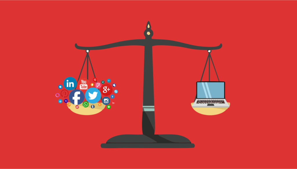 Website vs Social