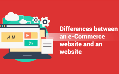 Differences between an e-Commerce website and an website