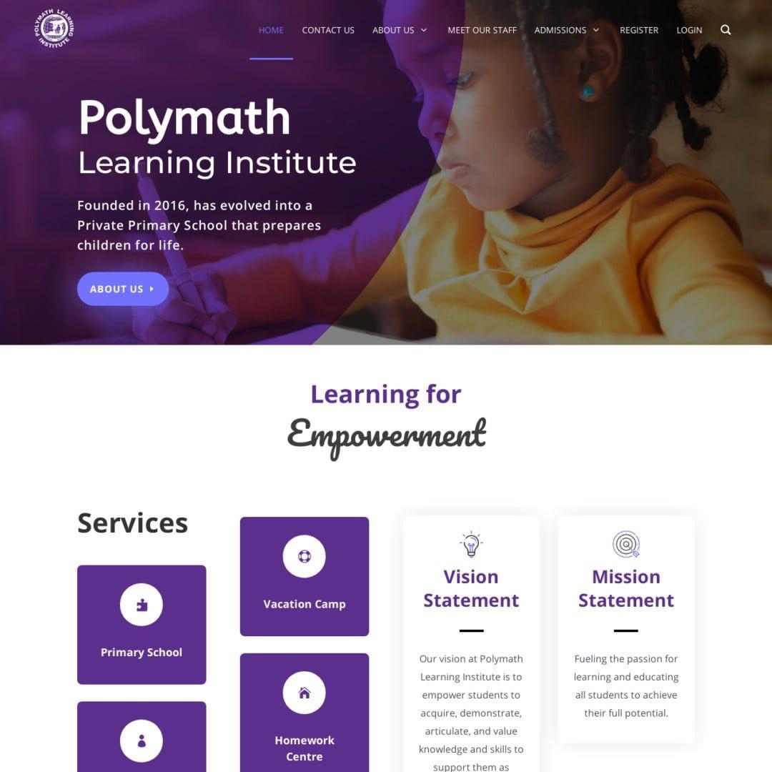 Polymath Learning Institute